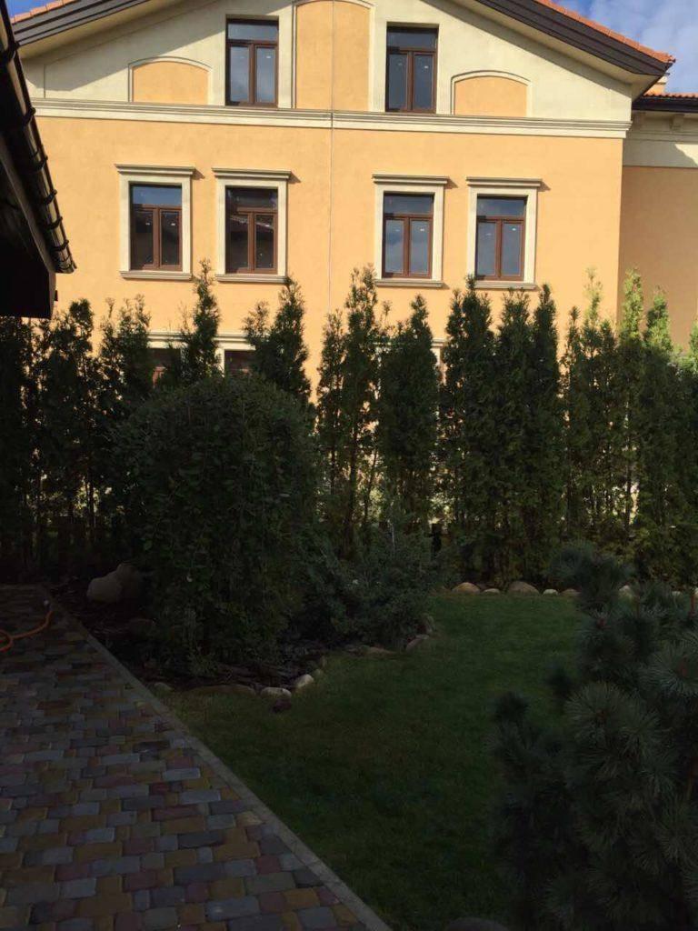 Итальянский квартал Оболонь Ландшафтный дизайн (10)