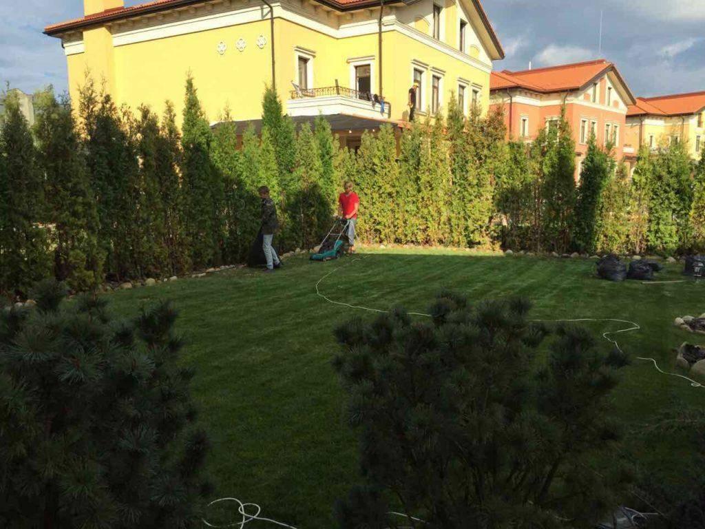 Итальянский квартал Оболонь Ландшафтный дизайн (11)
