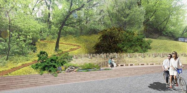Проект благоустройство и озеленение г.Киев