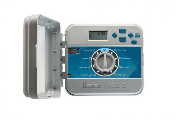 PCC-1201i-E Контроллер для управления 12-мя зонами полива (внутренний) Hunter Green Garth