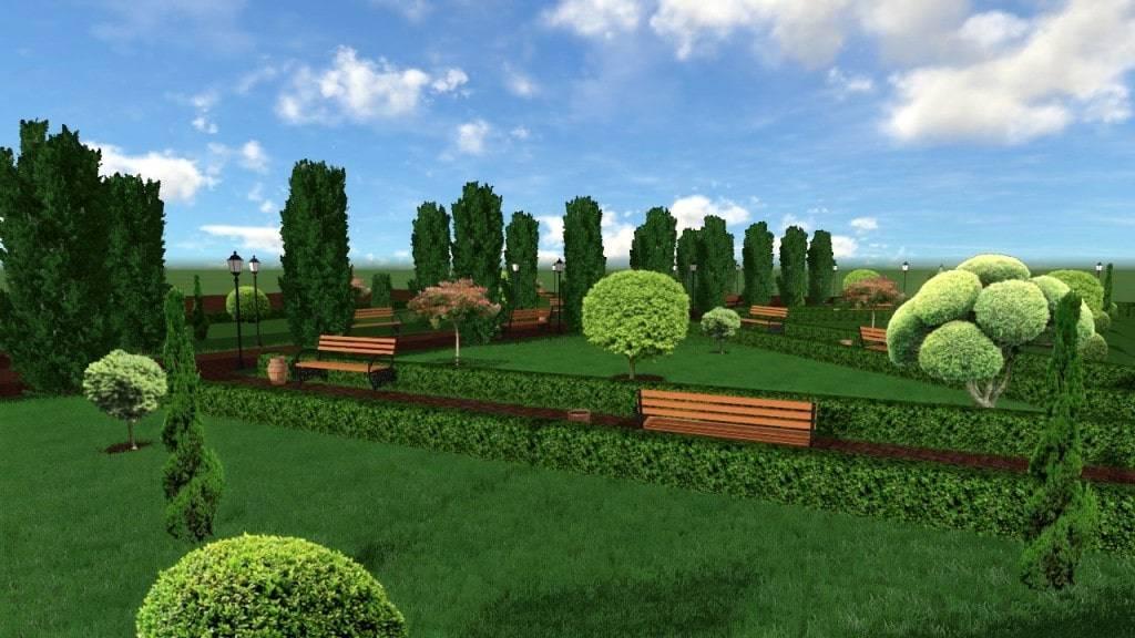 Ландшафтный дизайн (Галерея)