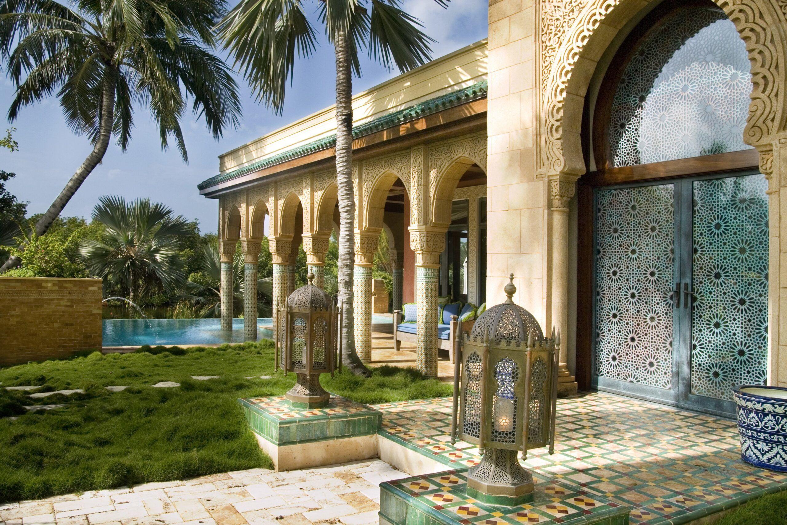 Мавританский стиль ландшафтный дизайн