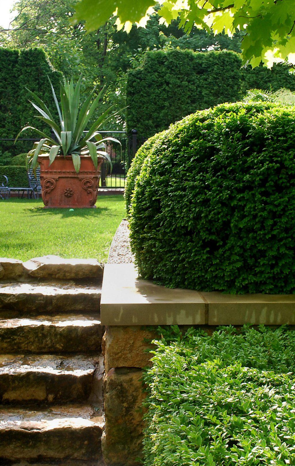 Ландшафтный дизайн классический стиль