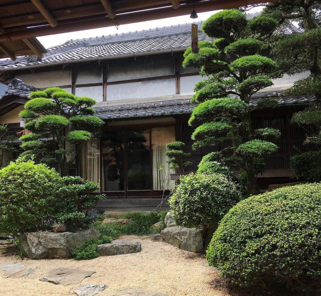 Японский стиль ландшафтный дизайн