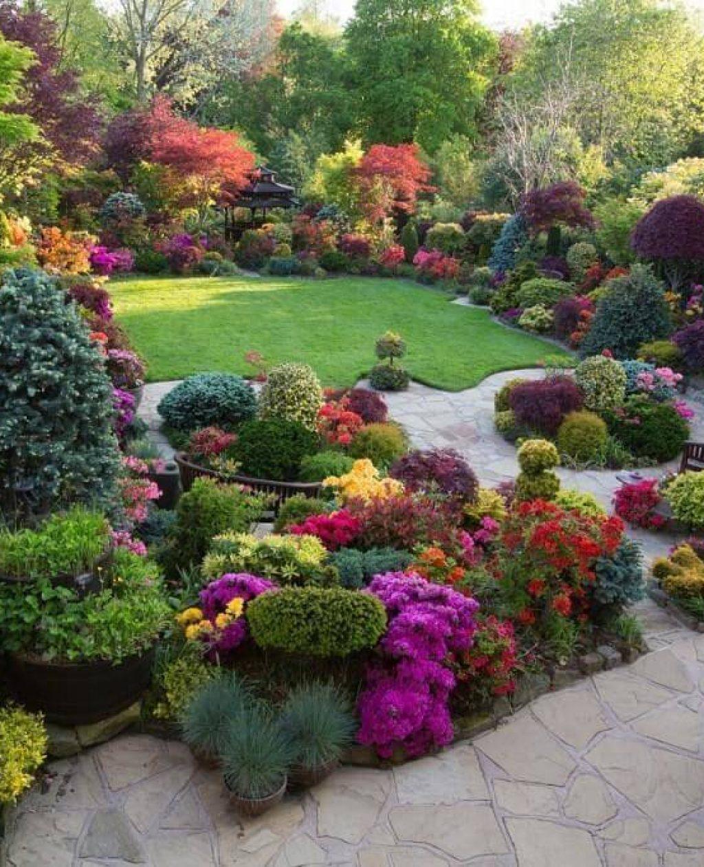 Пейзажный стиль ландшафтный дизайн